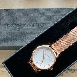 NEW Eddie Borgo NY Rose Gold Watch Factory Wrap